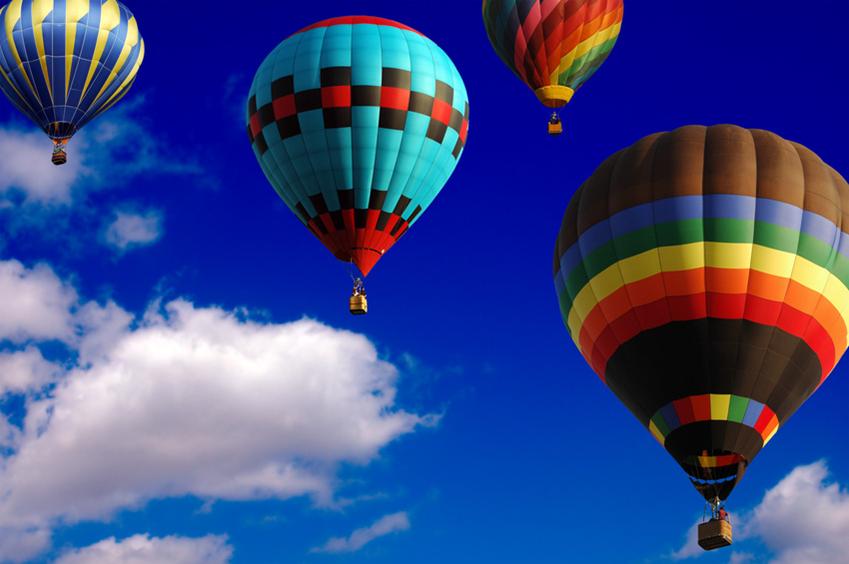 VGB Hot Air Balloon Ride Reward